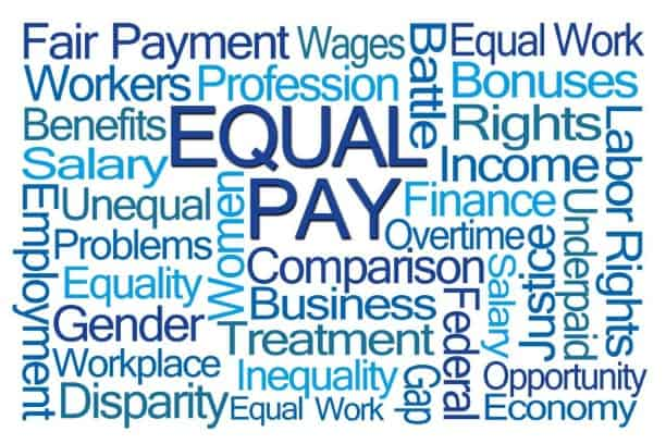 Equal pay graphic