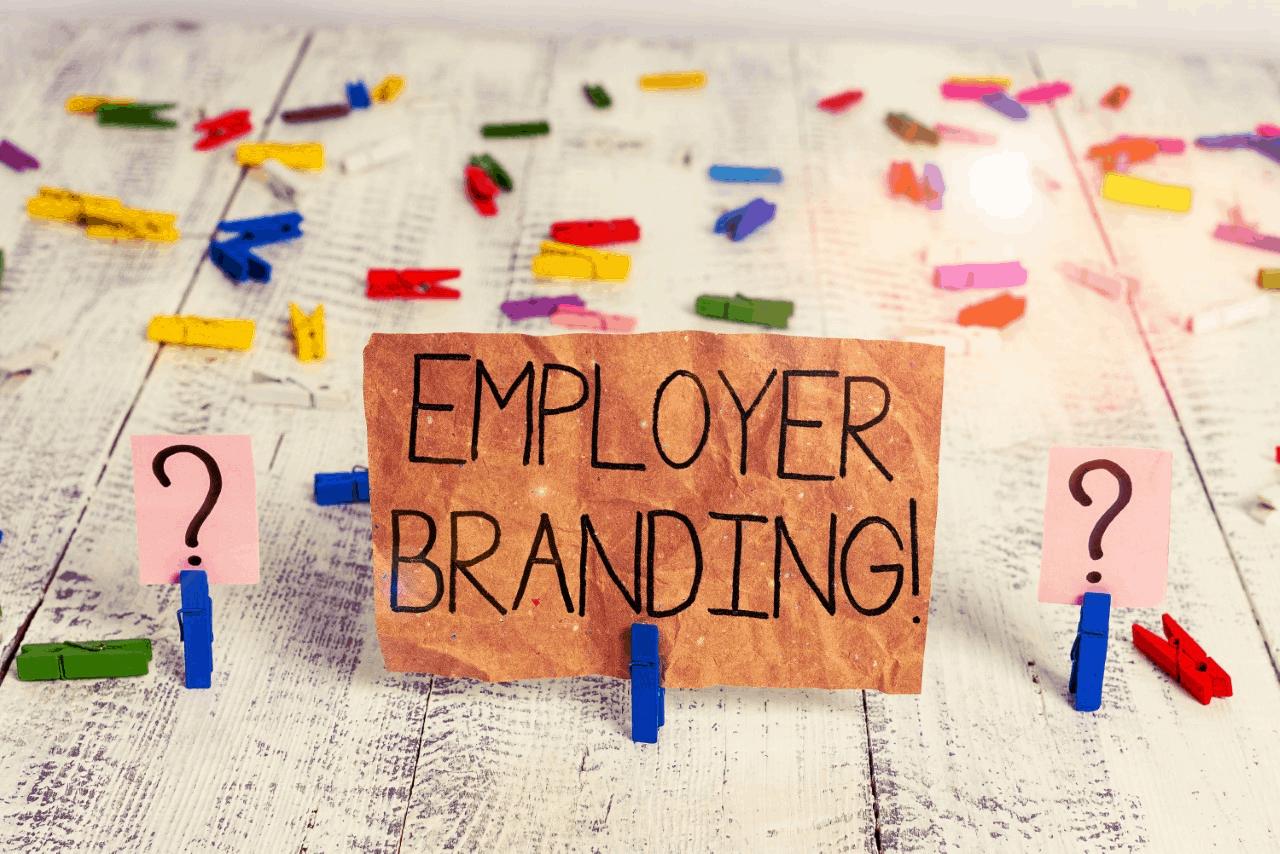 Employer branding stock photo