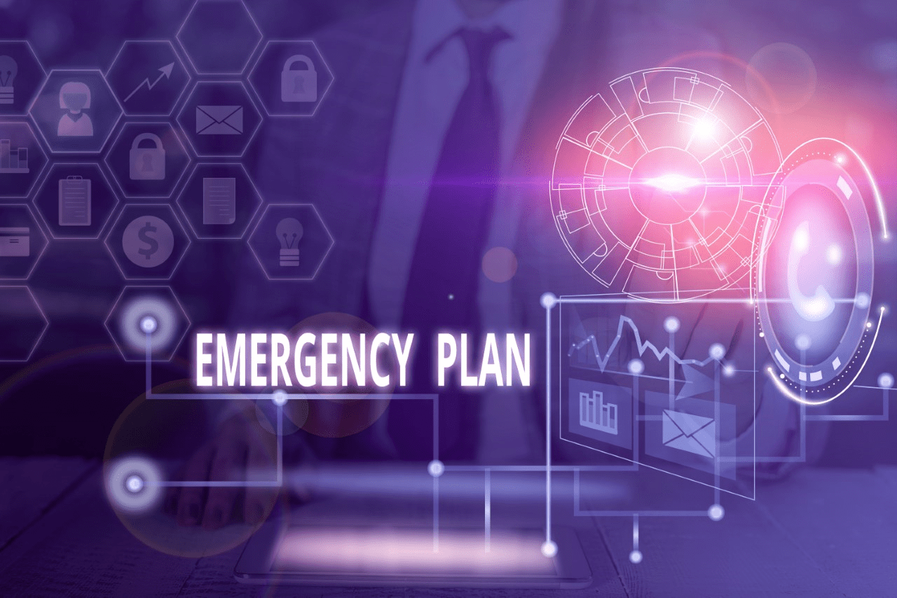 Emergency Plan stock graphic