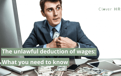 Unlawful Deduction of Wages