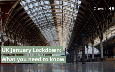 January 2021 Lockdown for England