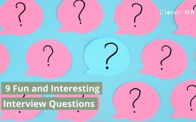 9 Fun and Interesting Interview Questions