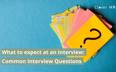 What to Expect at Interview – Common Interview Questions