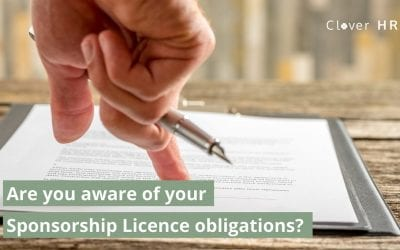 Are You Aware of your Sponsor Licence Obligations?