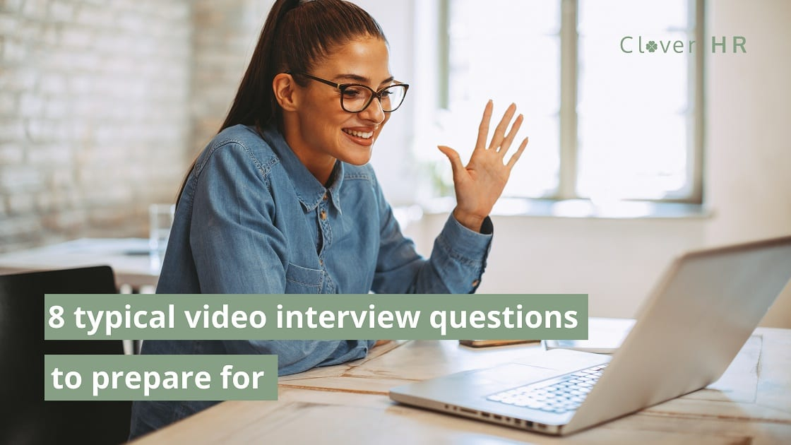 woman during an interview for a job