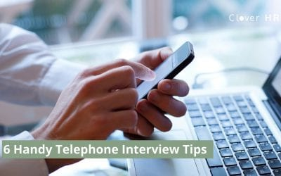 6 Handy Telephone Interview Tips
