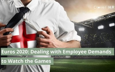 Euro 2020 and Dealing with Employee Demands to Watch the Games