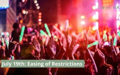 Lifting of Restrictions – 19th July 2021